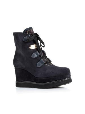 Ботинки NORMA J BAKER. Цвет: темно-синий