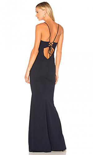 Вечернее платье luna Katie May. Цвет: синий