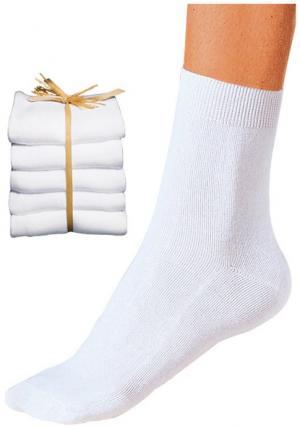 Носки, 10 пар GO IN. Цвет: 10х белый, 10х черный