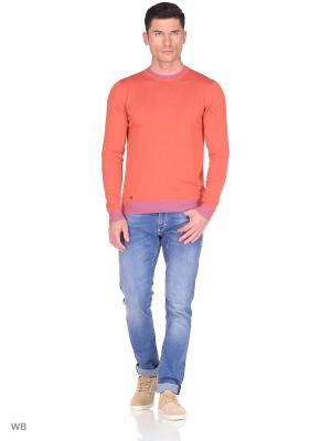 Джемпер Monton. Цвет: оранжевый