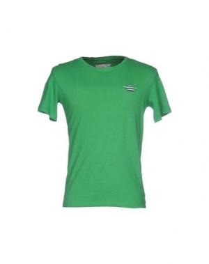 Футболка MACCHIA J. Цвет: зеленый