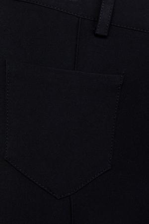 Хлопковые брюки Dior Children. Цвет: черный