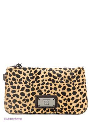 Бумажник GEOX. Цвет: коричневый