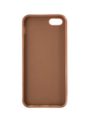 Чехол-визитница на iphone 5 JD.ZARZIS. Цвет: коричневый