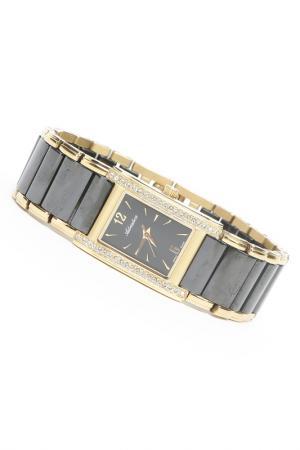 Часы наручные Adriatica. Цвет: черный, желтый