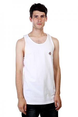 Майка  Cross/Bar Tank White Independent. Цвет: белый