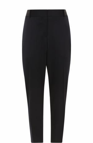 Укороченные брюки прямого кроя Burberry. Цвет: синий