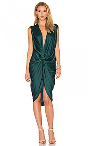 Платье elana One Fell Swoop. Цвет: зеленый