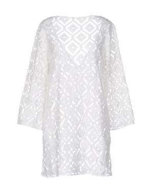 Короткое платье F**K PROJECT. Цвет: белый