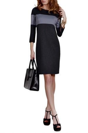 Платье FRANCESCA LUCINI. Цвет: меланж, серый