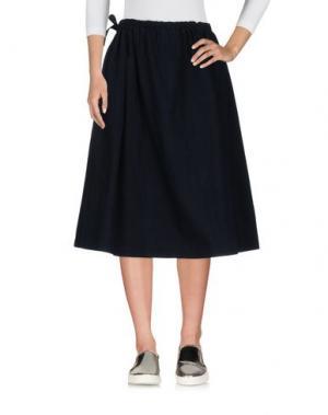 Джинсовая юбка A.B APUNTOB. Цвет: синий