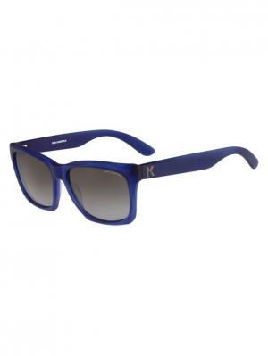 Очки солнцезащитные KL 871S 077 Karl Lagerfeld. Цвет: синий