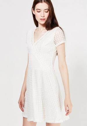 Платье Jennyfer. Цвет: бежевый