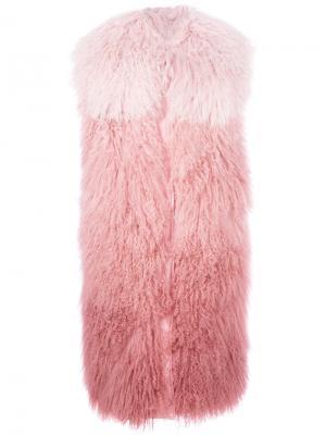 Жилет Sophora Moncler. Цвет: розовый и фиолетовый