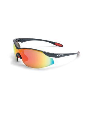 Солнцезащитные очки NRC. Цвет: черный, оранжевый