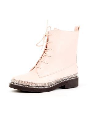 Ботинки Best&Best. Цвет: розовый