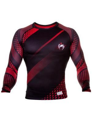 Рашгард Venum Rapid Black/Red L/S. Цвет: черный, красный