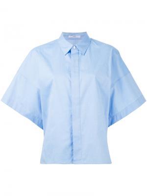 Рубашка с короткими рукавами Astraet. Цвет: синий