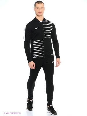 Спортивный костюм ACADEMY GPX KNT TRCKSUIT II Nike. Цвет: черный