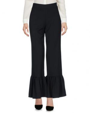 Повседневные брюки HUITDEGRÉS. Цвет: черный