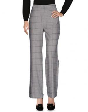Повседневные брюки AGLINI. Цвет: серый