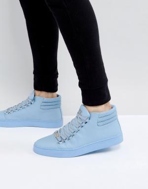 Glorious Gangsta Голубые высокие кроссовки Paris. Цвет: синий