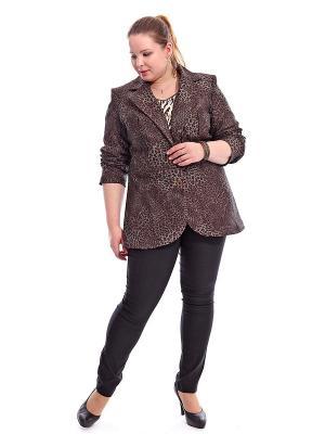 Жакет Jean Marc Philippe. Цвет: темно-коричневый