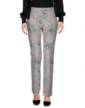 Повседневные брюки GIAMBA. Цвет: светло-желтый