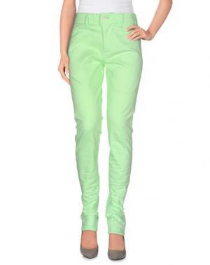 Повседневные брюки JULIEN DAVID. Цвет: кислотно-зеленый