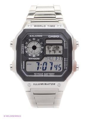 Часы Casio AE-1200WHD-1A. Цвет: черный