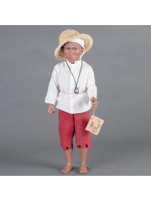 Кукла  Chango- Жизненная сила и мощь Lamagik S.L. Цвет: коричневый, розовый, белый