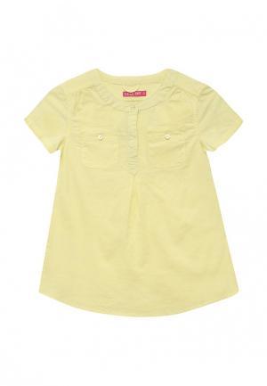 Блуза Sela. Цвет: желтый