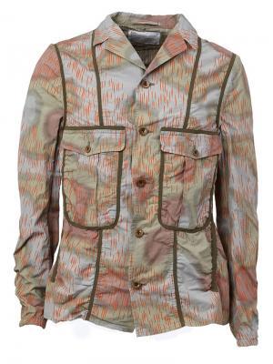 Куртка-карго с принтом Kolor. Цвет: многоцветный