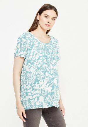 Блуза Mamalicious. Цвет: бирюзовый