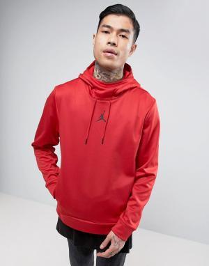 Jordan Худи без застежки Nike Protect 858236-687. Цвет: красный