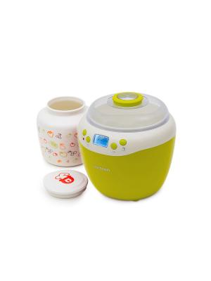 Йогуртница-ферментатор OURSSON. Цвет: зеленый