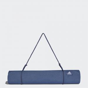Коврик для йоги  Performance adidas. Цвет: синий