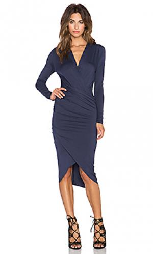 Платье cassie CHARLI. Цвет: синий
