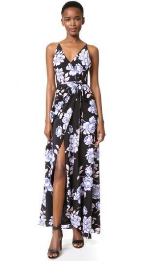 Макси-платье Rush Hour Yumi Kim. Цвет: классический черный пион