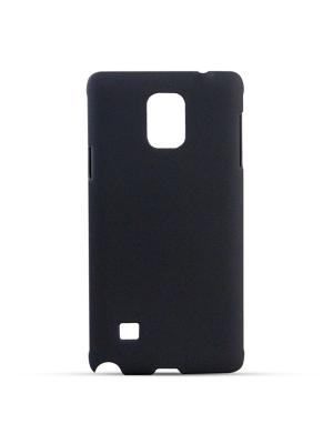 Чехол-панель для Samsung Galaxy Note 4, Soft-Touch, черный Belsis. Цвет: черный
