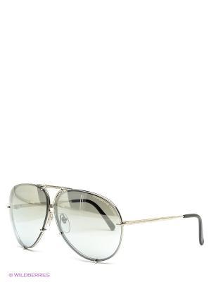 Солнцезащитные очки Porsche Design. Цвет: антрацитовый