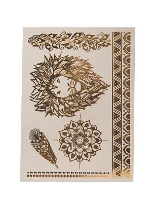 Временные татуировки Mitya Veselkov. Цвет: золотистый