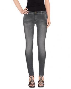 Джинсовые брюки CAMOUFLAGE AR AND J.. Цвет: свинцово-серый