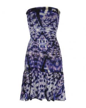 Короткое платье FUZZI. Цвет: фиолетовый