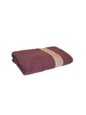 Полотенце махровое PROFFI HOME Классик, 30х50см, шоколадный. Цвет: коричневый
