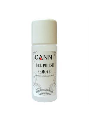 Gel Polish Remover Жидкость для снятия гель лака, 100 мл CANNI. Цвет: прозрачный