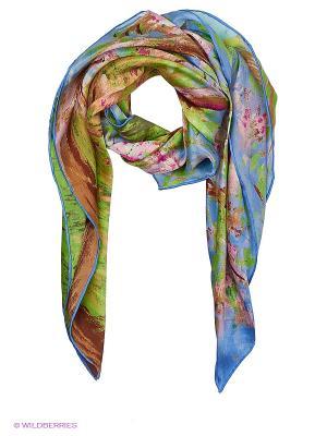 Платок Piero. Цвет: голубой, зеленый, розовый