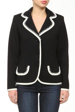 Пиджак ROSANNA PELLEGRINI. Цвет: черный, белый