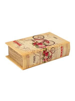 Шкатулка Путешествие Русские подарки. Цвет: темно-серый