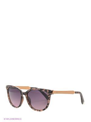Солнцезащитные очки Polaroid. Цвет: коричневый, розовый